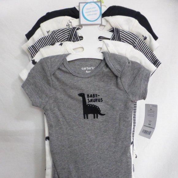 CARTER'S, 3 months, babysoft cotton, diaper shirts